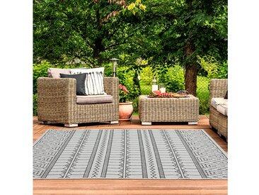 TEPPIA Outdoorteppich »ILLUSION 22152A«, rechteckig, Höhe 5 mm, Kurzflor, In- und Outdoor geeignet