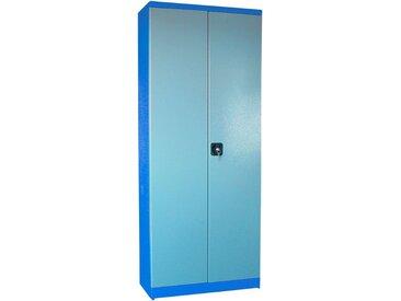 Güde GÜDE Werkzeugschrank »TYP B«, (B/T/H): 78x38x193 cm, blau, blau/grau