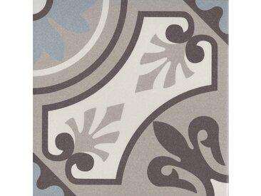 Casa Moro Fliesenaufkleber » Orientalische Keramik-Fliesen Lilou Klassik 20x20 cm 1 qm Feinsteinzeug in Zementoptik, Frostsichere Bodenfliesen & Wandfliesen im Bad & Küche