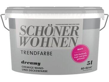 SCHÖNER WOHNEN-Kollektion Wand- und Deckenfarbe »Trendfarbe«, grau, Dreamy