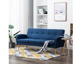 vidaXL Sofa » Sofa 3-Sitzer Stoff Designersofa Polstersofa Stoffsofa mehrere Auswahl«, blau, Blau
