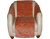 Wirth Sofaläufer »Miriam«, rechteckig, Höhe 5 mm, orange, terrakotta
