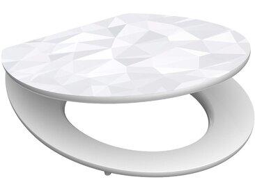 Schütte WC-Sitz »Diamond«, mit Absenkautomatik
