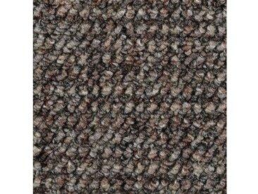 Bodenmeister BODENMEISTER Teppichboden »Schlinge gemustert«, Meterware, Breite 400/500 cm, braun, braun/grau