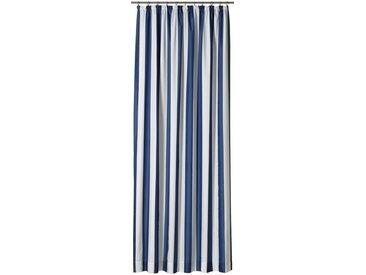 Gardisette Vorhang »Duo«, Kräuselband (1 Stück), blau, blau