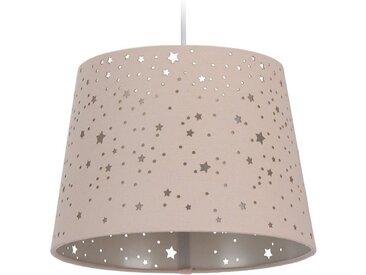 relaxdays Hängeleuchte »Kinderzimmerlampe Sterne«, rosa, Rosa