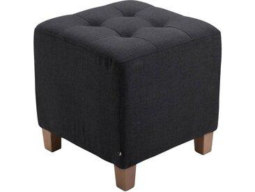 CLP Sitzwürfel »Pharao Stoff«, mit hochwertiger Polsterung, schwarz, schwarz