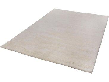 THEKO Wollteppich »Taza Royal«, rechteckig, Höhe 24 mm, echter Berber, reine Schurwolle, weiß, weiß