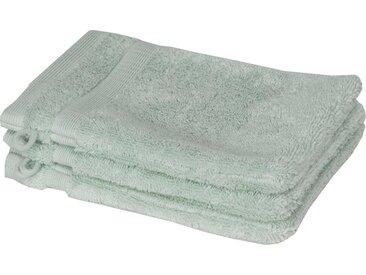 SCHÖNER WOHNEN-Kollektion Waschlappen »Cuddly« (3-tlg), in unterschiedlichen Farben, grün, mint