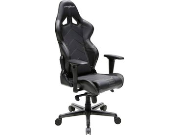 DXRacer Gaming Chair Racing-Serie, OH/RV131, schwarz, schwarz/schwarz