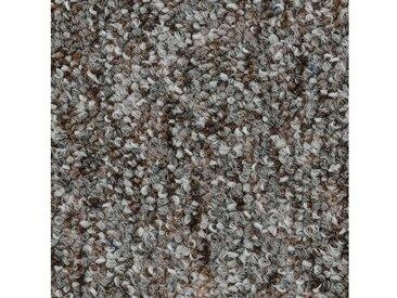 Bodenmeister BODENMEISTER Teppichboden »Schlinge gemustert«, Meterware, Breite 200/300/400/500 cm, grau, grau/braun