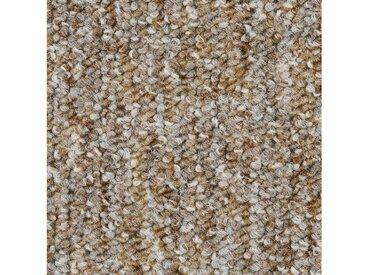 Bodenmeister BODENMEISTER Teppichboden »Schlinge gemustert«, Meterware, Breite 200/300/400/500 cm, natur, beige/grau