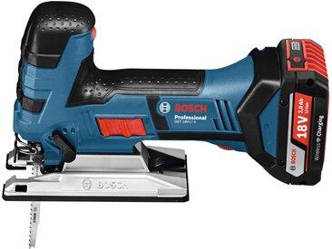 Bosch Professional BOSCH PROFESSIONAL Akku-Stichsäge »GST 18V-LI S Pro«, ohne Akku und Ladegerät, blau, blau