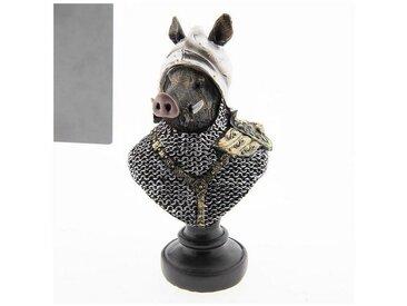 Clayre & Eef Tierfigur » Dekoration Wildschwein Multi 15*11*25«