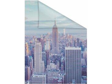 LICHTBLICK Fensterfolie »New York«, blickdicht, strukturiert, selbstklebend, Sichtschutz