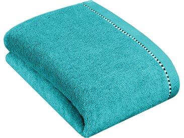 Esprit Duschtuch »Box Solid« (1-St), mit Bordüre, blau, turquoise