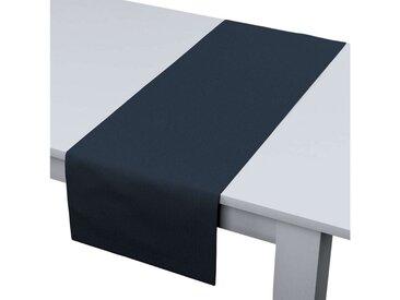 Dekoria Tischläufer, marinenblau