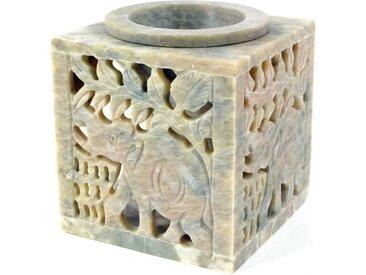 Guru-Shop Duftlampe »Indische Duftlampe, ätherisches Öl Diffusor,..«, Würfel Elefant 1