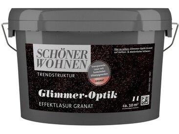 SCHÖNER WOHNEN-Kollektion SCHÖNER WOHNEN FARBE Wohnraumlasur »Glimmer-Optik Effektlasur«, 1 l, grau, granat