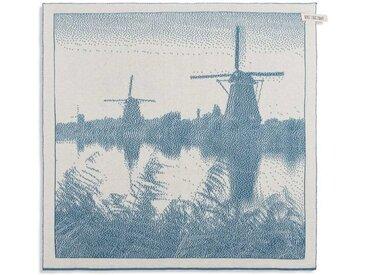 Knit Factory Tischdecke »Küchentuch Mühle Ecru/Ocean«