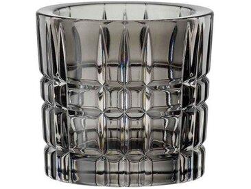 Nachtmann Kerzenhalter »Square Teelichthalter smoke grau« (1 Stück)