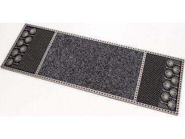CarFashion Fußmatte »CC Clean Dandeli«, rechteckig, Höhe 8 mm, In- und Outdoor geeignet, grau, anthrazit