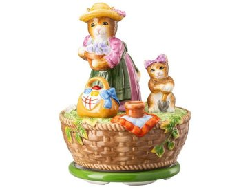 Hutschenreuther Dekofigur »Spieluhr Ostern limitiert Gartenarbeit« (1 Stück), Sammlerstück