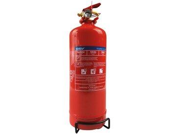 GEV Feuerlöscher »Pulverlöscher, 2 Kg«, für Haus, Auto und Camping, rot, rot