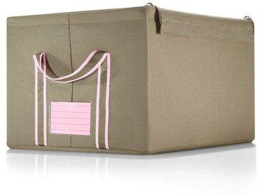 REISENTHEL® Aufbewahrungsbox »storagebox M«, natur, khaki