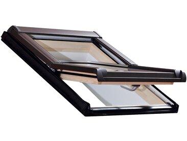 RORO Türen & Fenster RORO Dachfenster »Typ DHE210«, BxH: 54x98 cm, kieferfarben, grau, anthrazit