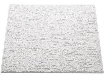 Decoflair Deckenplatten »Deckenplatte T102«, (Set) in Putzoptik