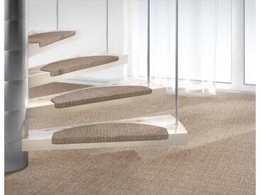 Dekowe Stufenmatte »Mara S2«, stufenförmig, Höhe 5 mm, Obermaterial: 100% Sisal, natur, 15 St., beige