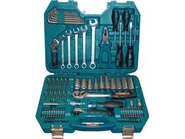 Makita MAKITA Werkzeugset »P-90093«, (83-tlg.), blau, blau