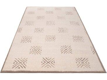 Home affaire Teppich »Verena«, rechteckig, Höhe 14 mm, Berber-Optik, natur, natur