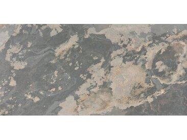 SLATE LITE Dekorpaneele »Rustique«, Naturstein, Stärke 1,5 mm, 122 x 61 cm, schwarz, 122 x 61cm, natur/schwarz