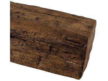 Homestar HOMESTAR Dekorpaneele 12 x 12 cm, Länge 2 m, Holzimitat, Eiche dunkelbraun, braun, dunkelbraun