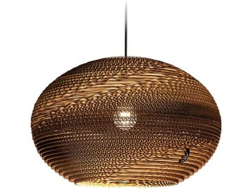 think paper Hängeleuchte »Classy 440«, einzigartige Deckenlampe, LED Hängeleuchte, Papierdesgn Lampe, Handarbeit aus Papier