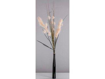 Blütenwerk Trockenblume »Palmwedel Beige Mix«, Höhe 90 cm, künstliches Pampasgras