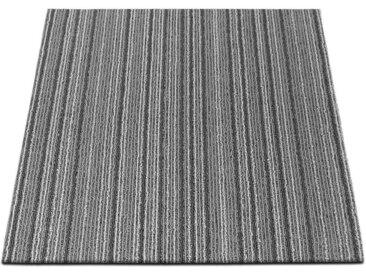 casa pura Teppichfliese »Venice«, Quadratisch, Höhe 6 mm, Selbstliegend, grau, Grau J3