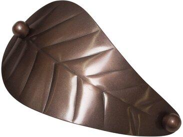 GARDINIA Dekospange »Dekospange Blatt«, braun, bronzefarben