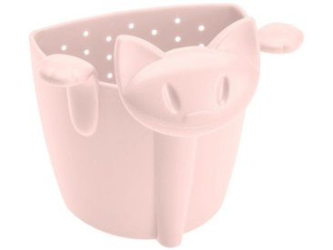 KOZIOL Teesieb »Miaou Queen Pink 7.7 cm«, Kunststoff