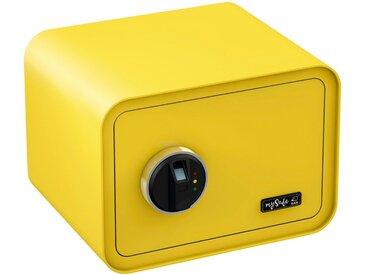 BASI Tresor »mySafe 350«, mit Fingerabdruck, gelb, gelb