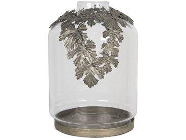 Clayre & Eef Laterne » Laterne transparent Eisen / Glas«