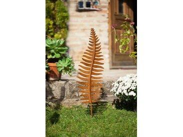 HomeLiving Gartenstecker »Farnblatt«