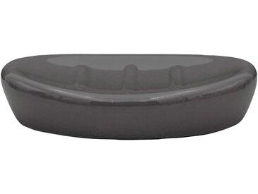 RIDDER Seifenschale »Belly«, Keramik, grau, grau