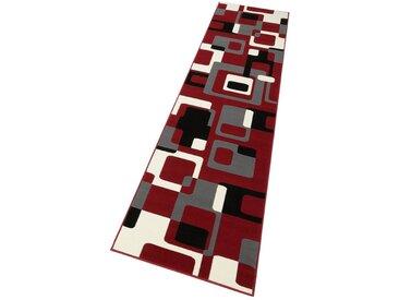 HANSE Home Läufer »Retro«, rechteckig, Höhe 9 mm, retro Design, rot, rot