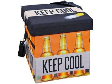 ebuy24 Aufbewahrungsbox »Fabo Aufbewahrungsbox Kühltasche, Hocker, mit Deck«