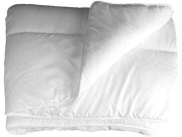 dynamic24 Microfaserbettdecke, Bettdecke 220x240 cm 2 Personen Inlett Decke Übergröße Steppbett Zudecke