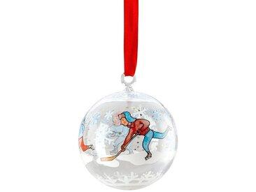 Hutschenreuther Weihnachtsbaumkugel »Glaskugel Sammelkollektion 2018 Winterfreuden«