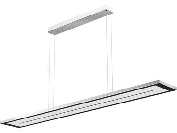 EVOTEC LED Pendelleuchte »ZEN«, LED Hängelampe, LED Hängeleuchte, Farbwechsel, silberfarben, nickelfarben-schwarz
